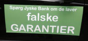 Falske garantier.